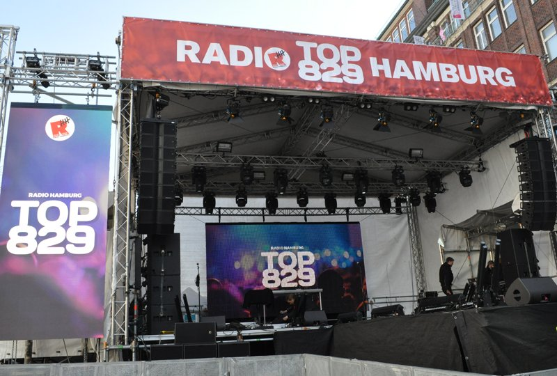 Radio Hamburg Bühne TOP 829