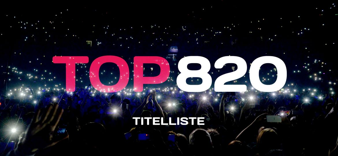 TOP 820 Titelliste