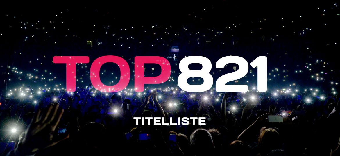TOP 821 Titelliste